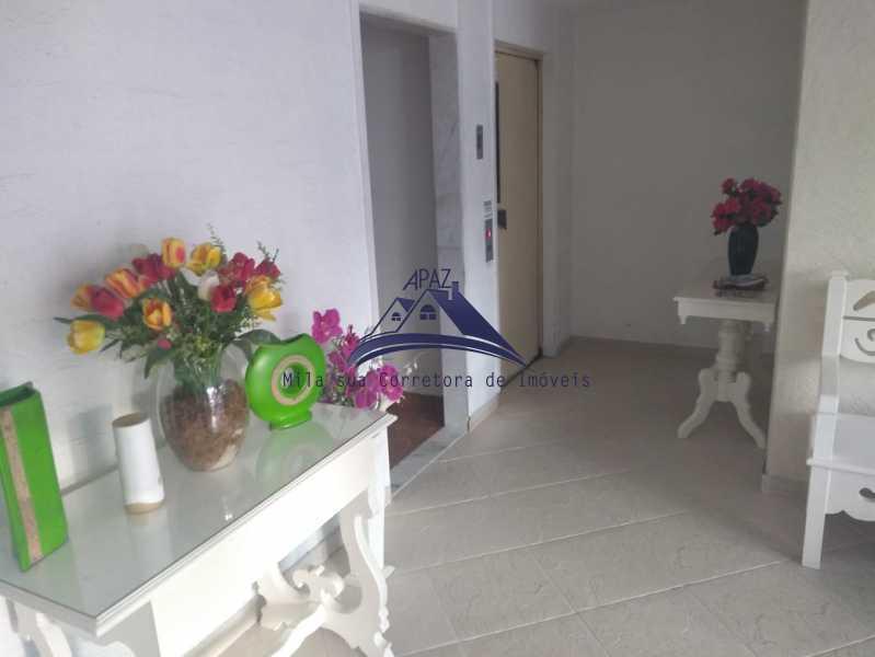 CORREDOR PRÉDIO 1 - Apartamento 3 quartos à venda Rio de Janeiro,RJ - R$ 690.000 - MSAP30057 - 1