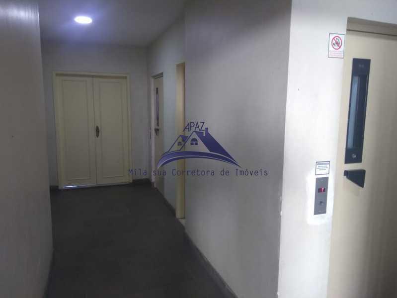 CORREDOR PRÉDIO - Apartamento 3 quartos à venda Rio de Janeiro,RJ - R$ 690.000 - MSAP30057 - 3