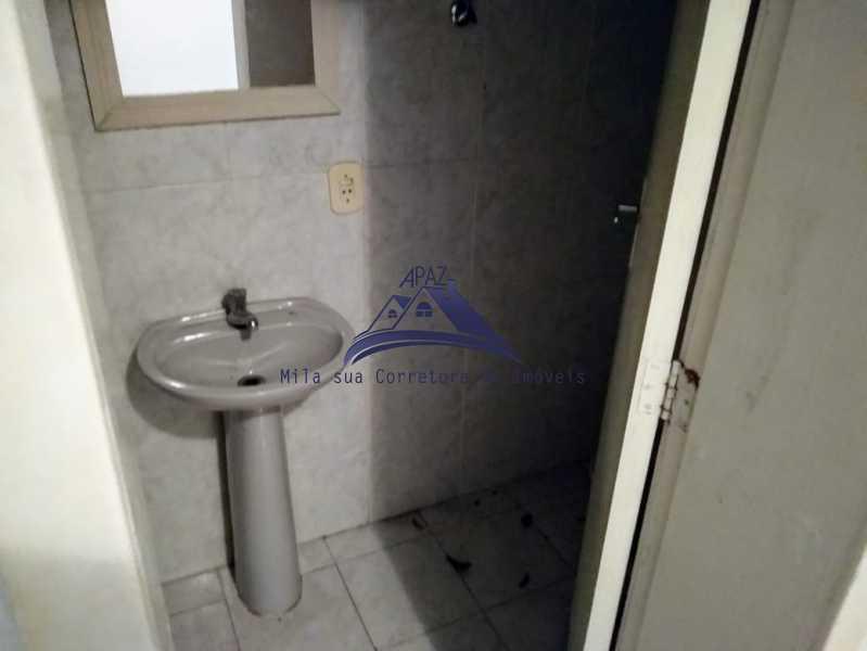 BANHEIRO SERVIÇO - Apartamento 3 quartos à venda Rio de Janeiro,RJ - R$ 537.000 - MSAP30058 - 12