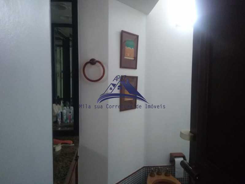 LAVABO 1 - Apartamento 3 quartos à venda Rio de Janeiro,RJ - R$ 1.150.000 - MSAP30059 - 18