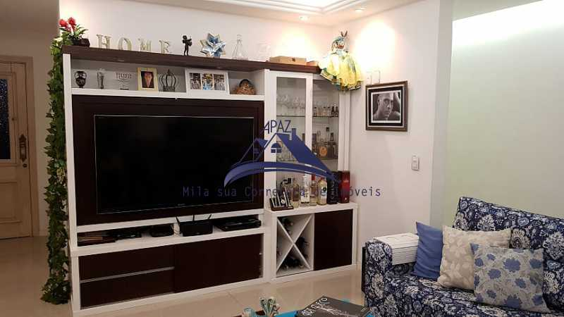 SALA DE ESTAR - Apartamento 3 quartos à venda Rio de Janeiro,RJ - R$ 1.400.000 - MSAP30060 - 4