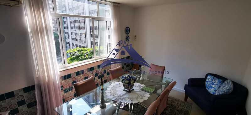 SALA VISÃO JANELA - Apartamento 3 quartos à venda Rio de Janeiro,RJ - R$ 1.400.000 - MSAP30060 - 6