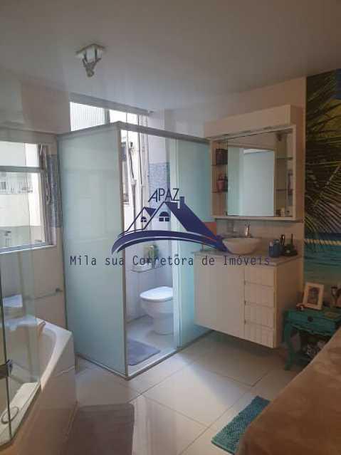 BANHEIRO QUARTO - Apartamento 3 quartos à venda Rio de Janeiro,RJ - R$ 1.400.000 - MSAP30060 - 16