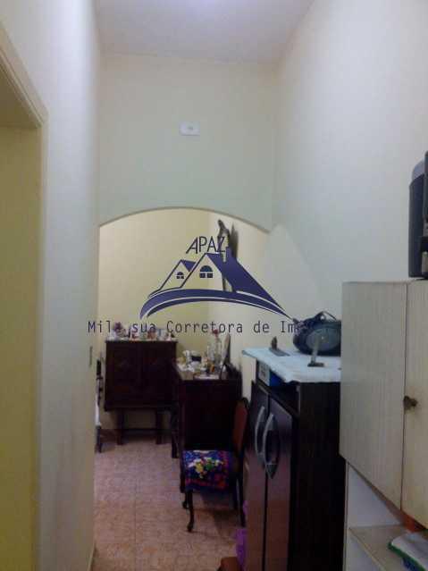 corredor para coz - Casa de Vila 4 quartos à venda Rio de Janeiro,RJ - R$ 950.000 - MSCV40001 - 8