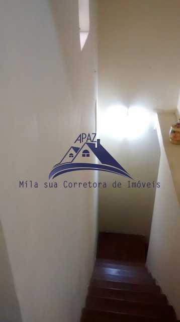 escada interior - Casa de Vila 4 quartos à venda Rio de Janeiro,RJ - R$ 950.000 - MSCV40001 - 13