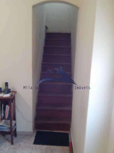 escada interna - Casa de Vila 4 quartos à venda Rio de Janeiro,RJ - R$ 950.000 - MSCV40001 - 14