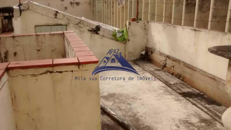 área superior - Casa de Vila 4 quartos à venda Rio de Janeiro,RJ - R$ 950.000 - MSCV40001 - 20