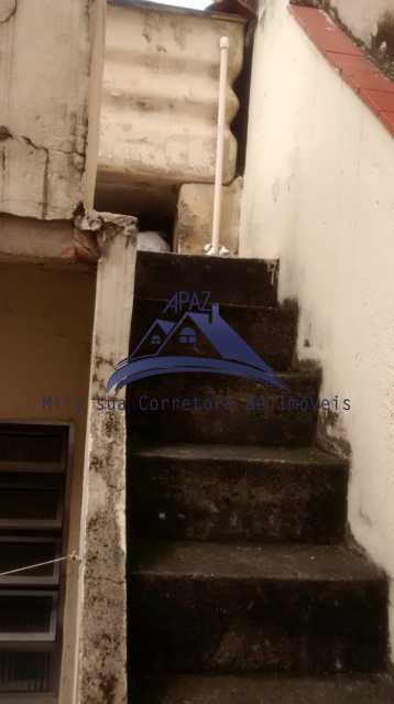 escada superior - Casa de Vila 4 quartos à venda Rio de Janeiro,RJ - R$ 950.000 - MSCV40001 - 21
