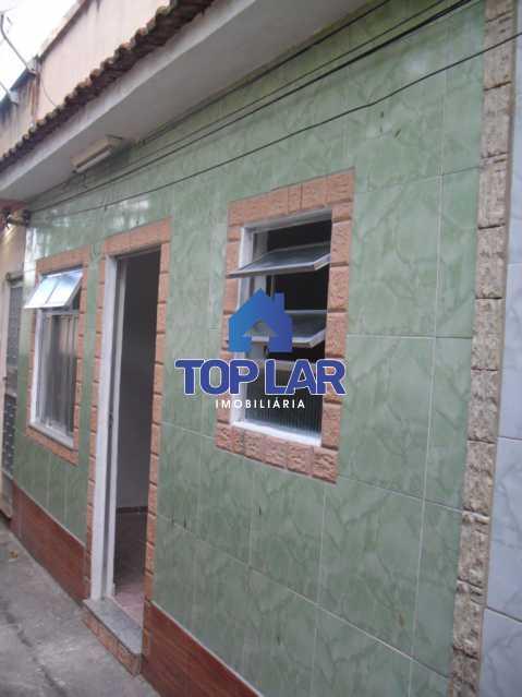 01 - Casa de Vila, residencial, VAZIA, sala, quarto, cozinha, banheiro, quintal com área. (Próx.Praça 2) - HACV10001 - 1
