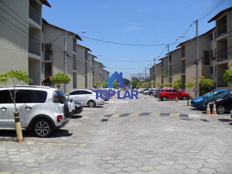 003 - Cond.Fech., seg.24hrs, apto VAZIO, fte, sla, 2qtos, coz. com armários, bh.blindex, área, gar. Total infra! (Próx. BRT São Jorge). - HAAP20095 - 4