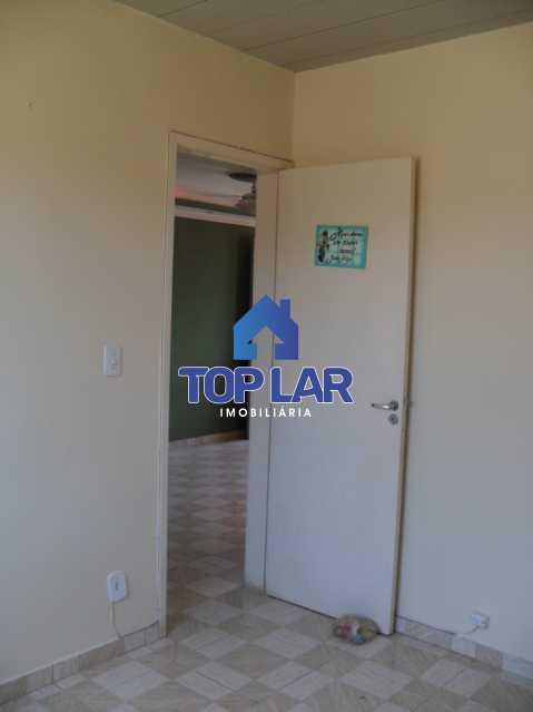 013 - Cond.Fech., seg.24hrs, apto VAZIO, fte, sla, 2qtos, coz. com armários, bh.blindex, área, gar. Total infra! (Próx. BRT São Jorge). - HAAP20095 - 14