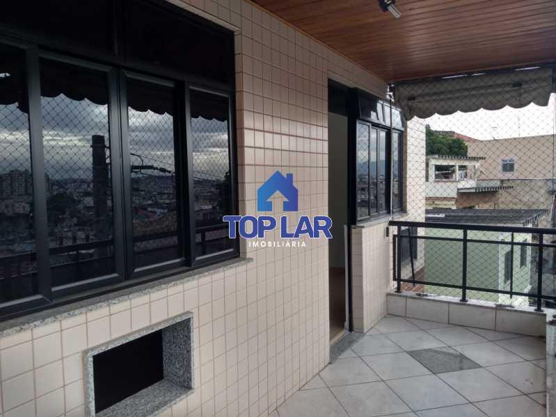 1. - Excelente apartamento em prédio pequeno com fino acabamento, 2 quartos sendo 1 suite e 1 vaga de garagem. - HAAP20115 - 1