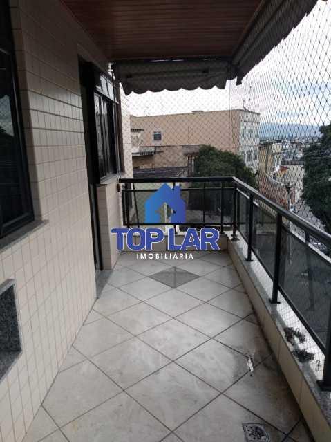 4. - Excelente apartamento em prédio pequeno com fino acabamento, 2 quartos sendo 1 suite e 1 vaga de garagem. - HAAP20115 - 3