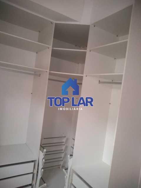 8. - Excelente apartamento em prédio pequeno com fino acabamento, 2 quartos sendo 1 suite e 1 vaga de garagem. - HAAP20115 - 12