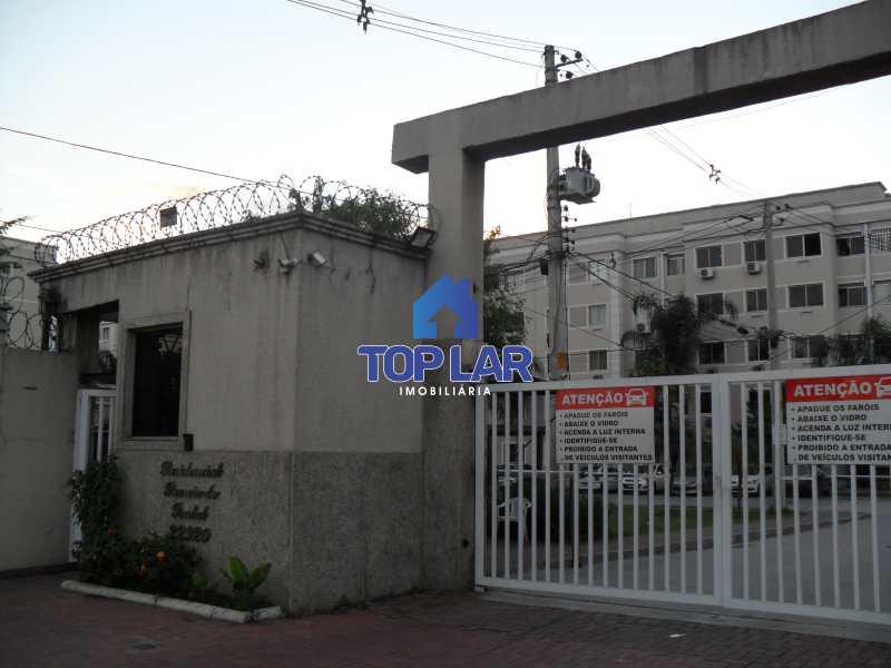 01 - Residencial Recreio do Pontal - apto TÉRREO, fte, sol manhã, sl, 2qtos, garagem, play, sl.festa, churrasqueira.(Segurança total) - HAAP20118 - 1