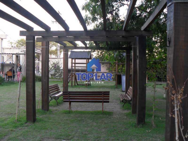 03 - Residencial Recreio do Pontal - apto TÉRREO, fte, sol manhã, sl, 2qtos, garagem, play, sl.festa, churrasqueira.(Segurança total) - HAAP20118 - 4