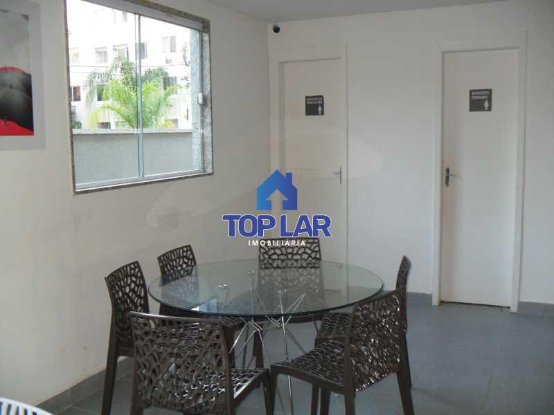08 - Residencial Recreio do Pontal - apto TÉRREO, fte, sol manhã, sl, 2qtos, garagem, play, sl.festa, churrasqueira.(Segurança total) - HAAP20118 - 9