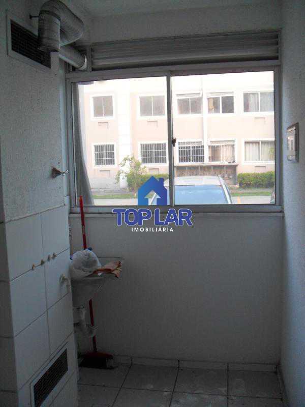 19 - Residencial Recreio do Pontal - apto TÉRREO, fte, sol manhã, sl, 2qtos, garagem, play, sl.festa, churrasqueira.(Segurança total) - HAAP20118 - 20