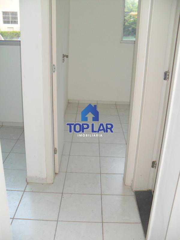 24 - Residencial Recreio do Pontal - apto TÉRREO, fte, sol manhã, sl, 2qtos, garagem, play, sl.festa, churrasqueira.(Segurança total) - HAAP20118 - 25