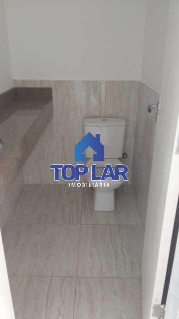 3 lavabo - Casa duplex, VAZIA, fte rua, 3 qtos - 1 ste com sacada, closet, gar, possib. terraço. (Próx. Campo Vista Alegre) - HACA30010 - 4