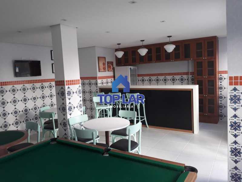 11 SALÃO DE JOGOS. - Penha, condomínio fechado, 3 quartos, varanda, suíte, vaga, infra total, melhor localização do bairro. - HAAP30022 - 12