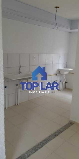 6. - Excelente apartamento primeira locação, 2 quartos com infra total e 1 vaga. - HAAP20124 - 7