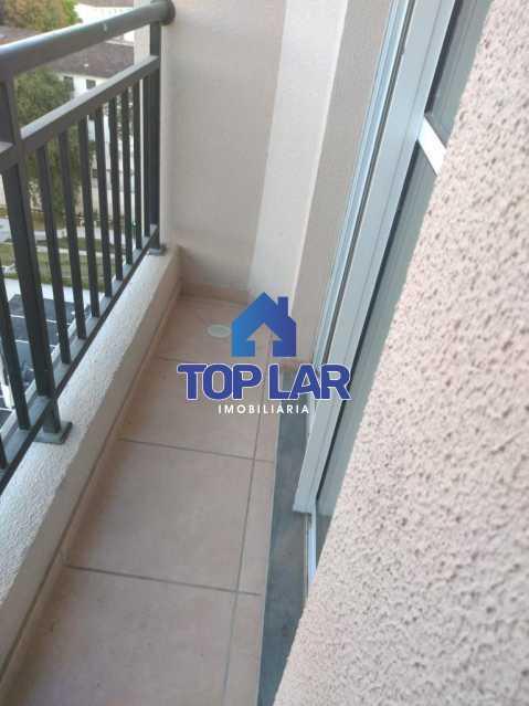 1. - Apartamento 2 quartos Condomínio Dez Zona Norte em Irajá. - HAAP20130 - 3