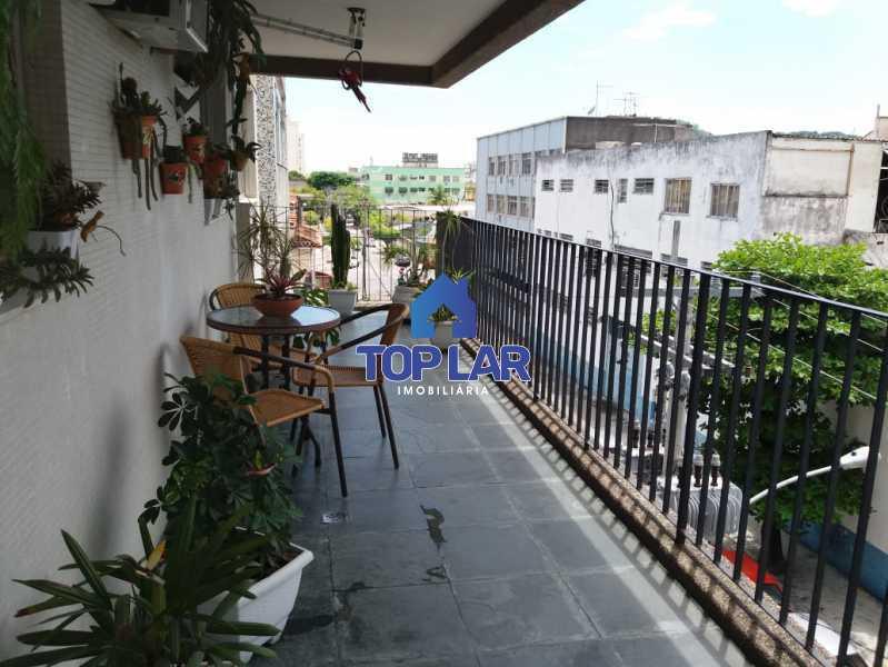 6. - Amplo apartamento na Vila da Penha, 3 dormitórios, varanda com dependência e 2 vagas na escritura. - HAAP30031 - 6