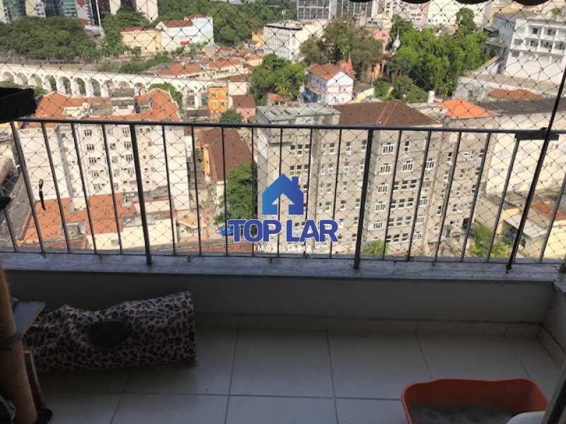 IMG_2853 - Excelente apartamento de 1 quarto, sala, varanda, cozinha e área de serviço com 1 vaga. - HAAP10023 - 8