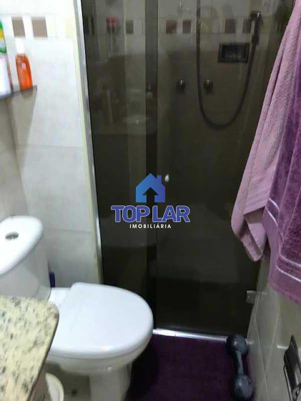 IMG_2859 - Excelente apartamento de 1 quarto, sala, varanda, cozinha e área de serviço com 1 vaga. - HAAP10023 - 16