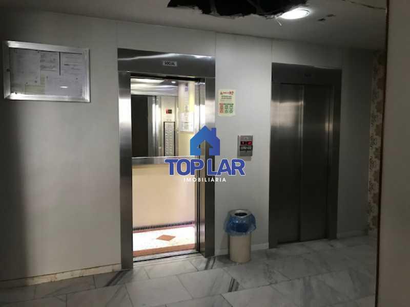 IMG_2872 - Excelente apartamento de 1 quarto, sala, varanda, cozinha e área de serviço com 1 vaga. - HAAP10023 - 5