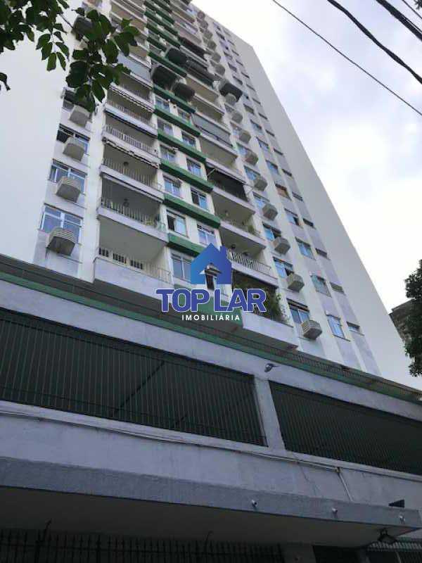 IMG_2876 - Excelente apartamento de 1 quarto, sala, varanda, cozinha e área de serviço com 1 vaga. - HAAP10023 - 1
