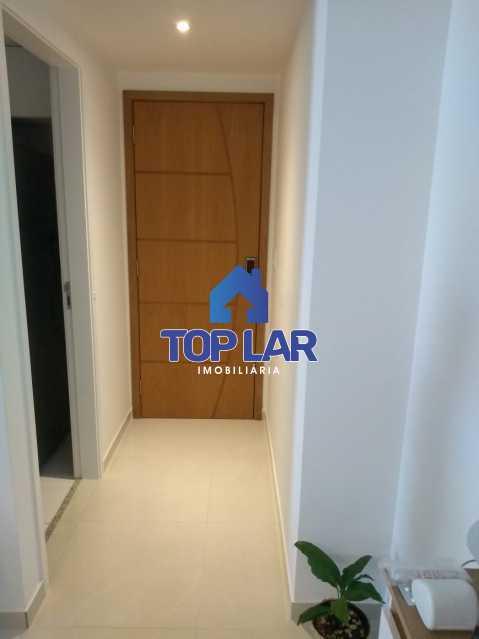 03. - Excelente Apartamento 2 quartos com 1 suite, 1 vaga e condomínio com toda Infra. - HAAP20171 - 9