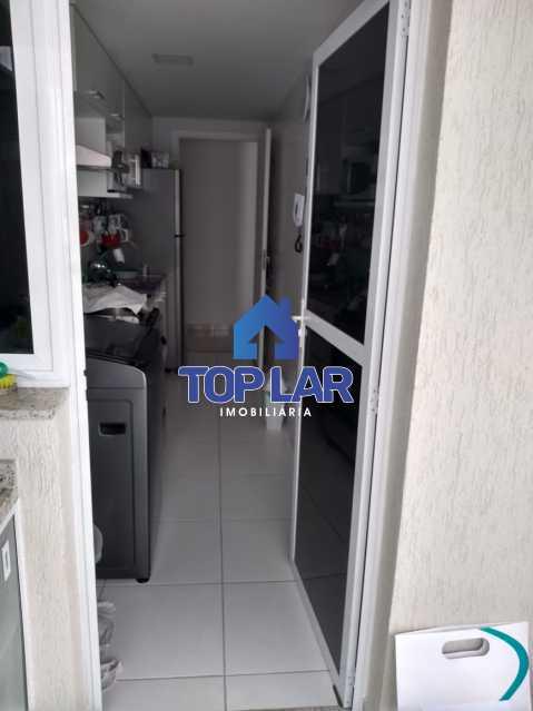 05. - Excelente Apartamento 2 quartos com 1 suite, 1 vaga e condomínio com toda Infra. - HAAP20171 - 7