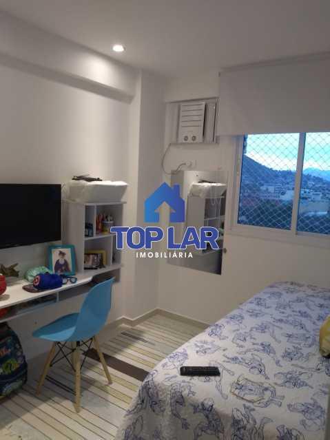 13. - Excelente Apartamento 2 quartos com 1 suite, 1 vaga e condomínio com toda Infra. - HAAP20171 - 16