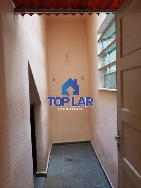 13 - Aptº tipo casa, térreo (57m²), rua fechada, sla, 1qto, coz., 02 áreas. (Próx.Polo Gastronômico V.Alegre) - HAAP10028 - 14