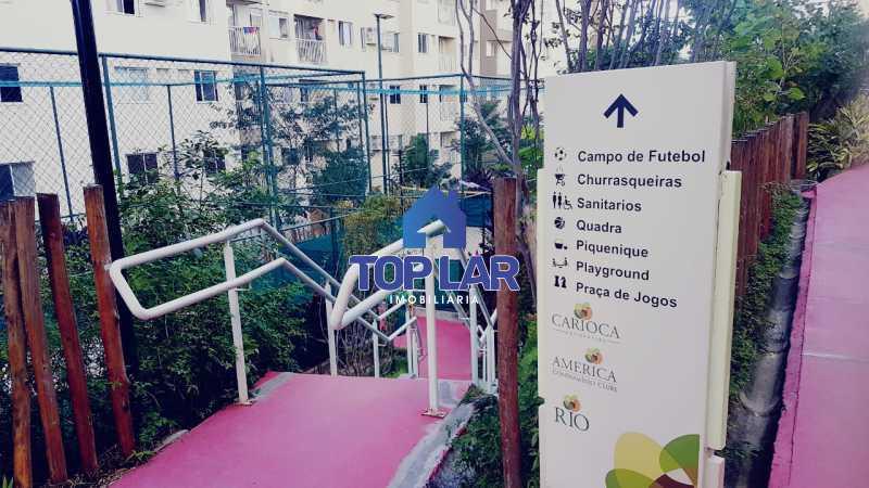 07. - Apartamento 2 quartos no América Condomínio Clube, em Del Castilho. - HAAP20179 - 9