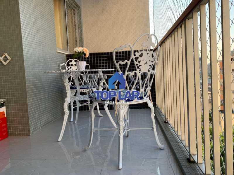 01. - Apartamento 3 quartos sendo 2 com suíte e vaga no Meier. Condomínio Pomar do Meyer. - HAAP30042 - 1