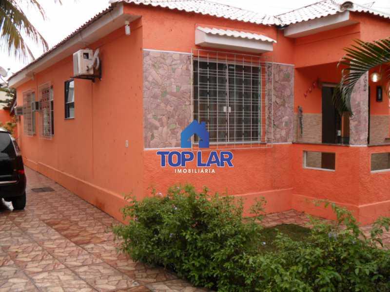 01 - Casa linear (532m²), fte rua, vrda, 2slas, 3qtos-1ste, área gourmet, quintalzão com piscina e 10 garagens. - HACA30006 - 1