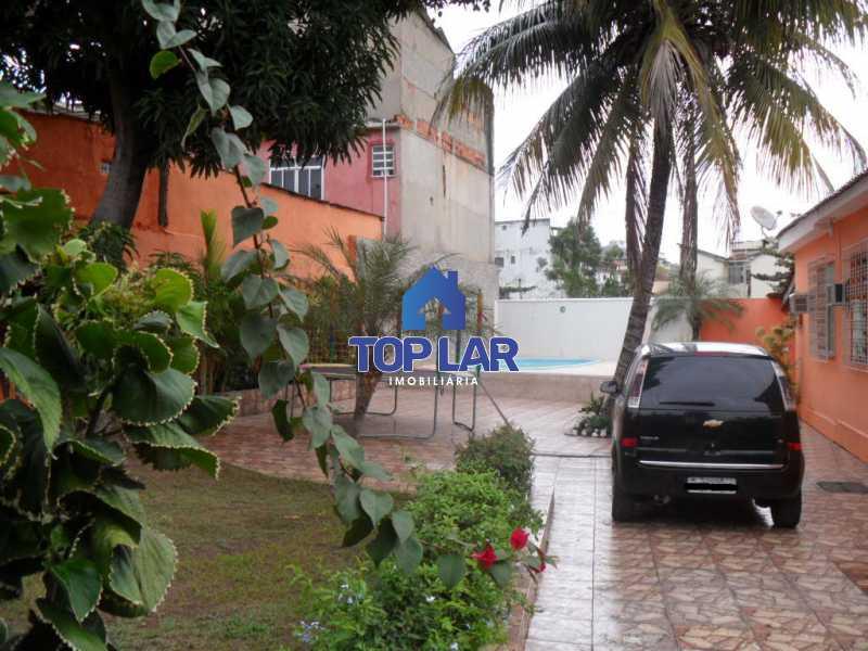05 - Casa linear (532m²), fte rua, vrda, 2slas, 3qtos-1ste, área gourmet, quintalzão com piscina e 10 garagens. - HACA30006 - 6
