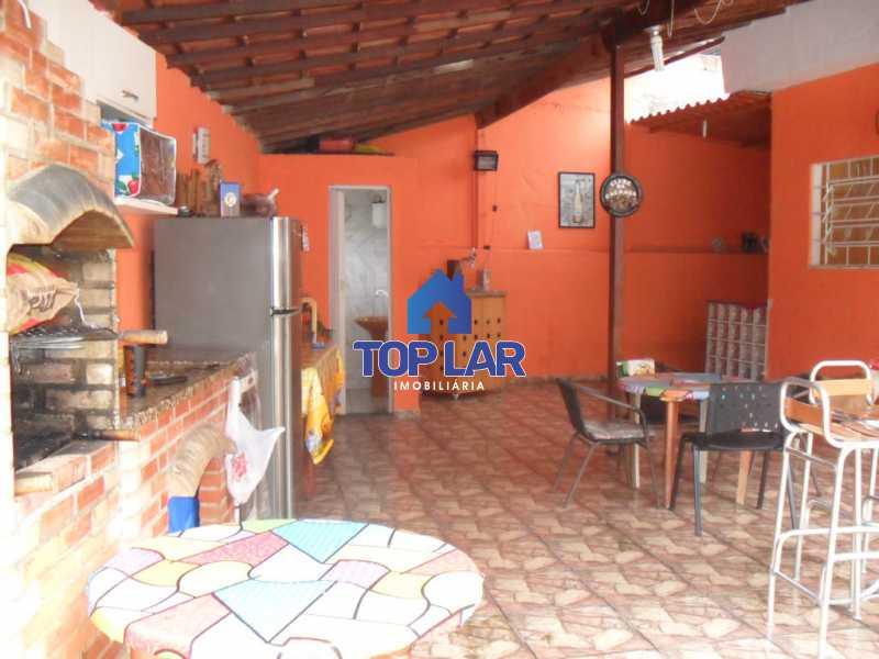 08 - Casa linear (532m²), fte rua, vrda, 2slas, 3qtos-1ste, área gourmet, quintalzão com piscina e 10 garagens. - HACA30006 - 9