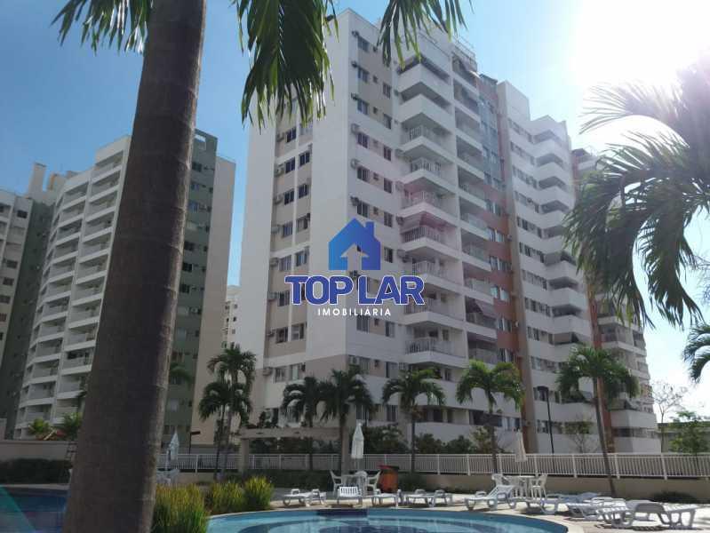 02 - Linda cobertura duplex, frente, 3 quartos - 2 planejados e 1 suíte, 3 banheiros, cozinha planejada, deck, churrasqueira, garagem e total infra. (Pátio Carioca) - HACO30003 - 3
