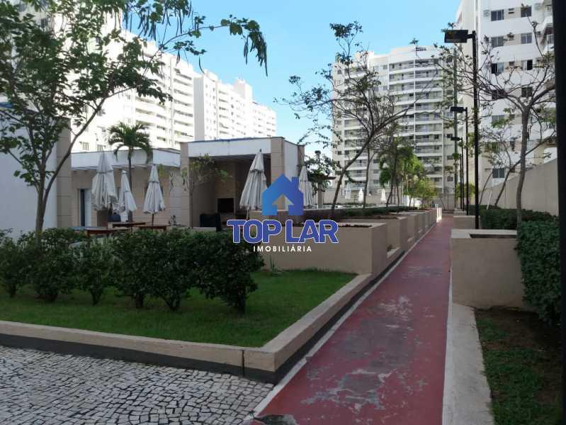 03 - Linda cobertura duplex, frente, 3 quartos - 2 planejados e 1 suíte, 3 banheiros, cozinha planejada, deck, churrasqueira, garagem e total infra. (Pátio Carioca) - HACO30003 - 4