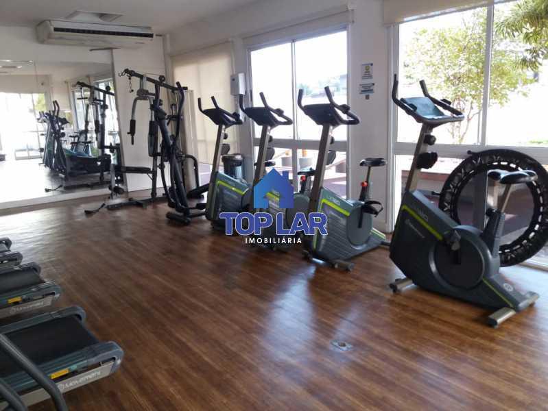 04 - Linda cobertura duplex, frente, 3 quartos - 2 planejados e 1 suíte, 3 banheiros, cozinha planejada, deck, churrasqueira, garagem e total infra. (Pátio Carioca) - HACO30003 - 5