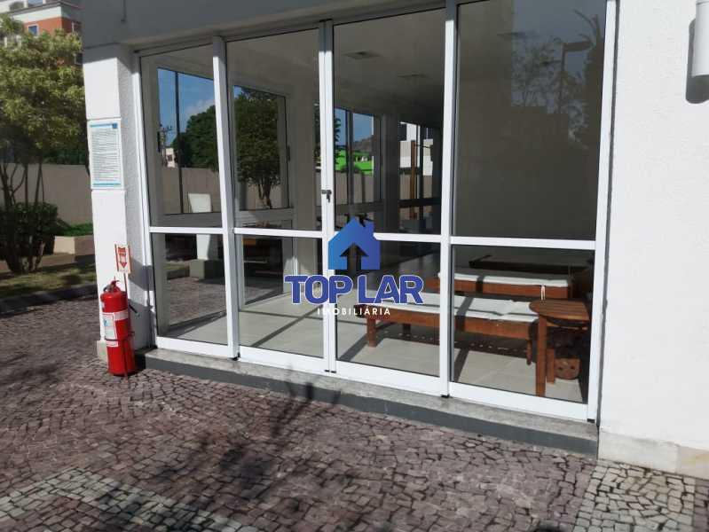 06 - Linda cobertura duplex, frente, 3 quartos - 2 planejados e 1 suíte, 3 banheiros, cozinha planejada, deck, churrasqueira, garagem e total infra. (Pátio Carioca) - HACO30003 - 7