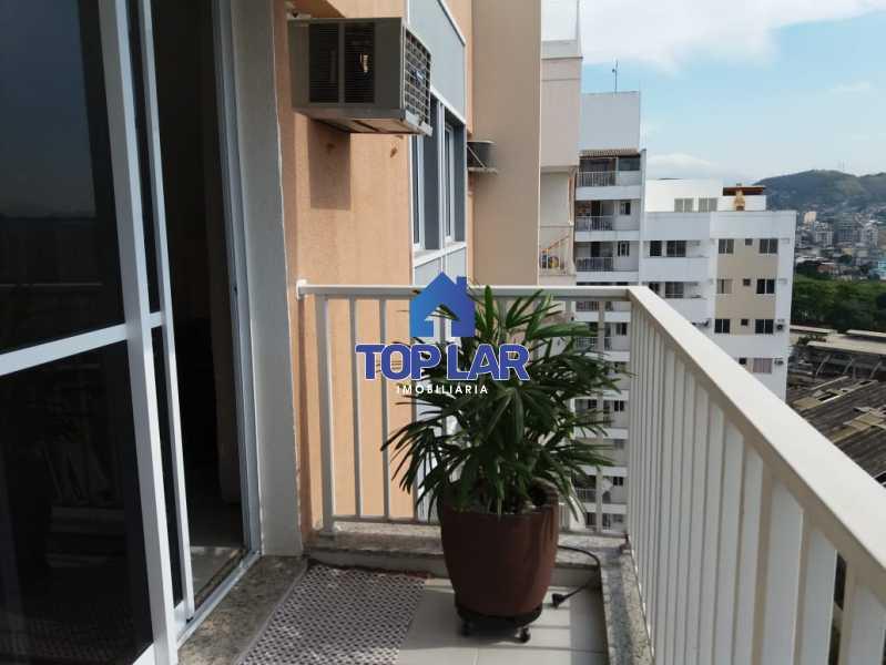 11 - Linda cobertura duplex, frente, 3 quartos - 2 planejados e 1 suíte, 3 banheiros, cozinha planejada, deck, churrasqueira, garagem e total infra. (Pátio Carioca) - HACO30003 - 12