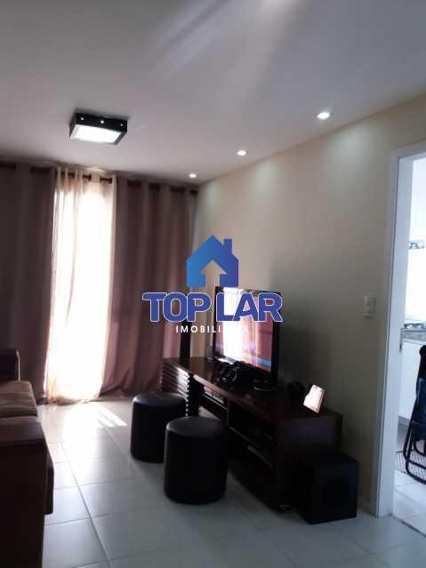 12 - Linda cobertura duplex, frente, 3 quartos - 2 planejados e 1 suíte, 3 banheiros, cozinha planejada, deck, churrasqueira, garagem e total infra. (Pátio Carioca) - HACO30003 - 13