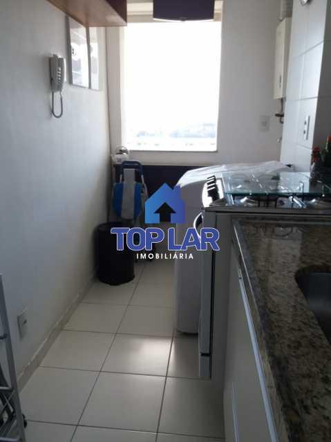 14 - Linda cobertura duplex, frente, 3 quartos - 2 planejados e 1 suíte, 3 banheiros, cozinha planejada, deck, churrasqueira, garagem e total infra. (Pátio Carioca) - HACO30003 - 15