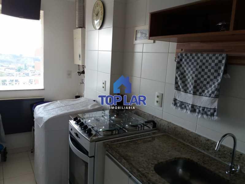 15 - Linda cobertura duplex, frente, 3 quartos - 2 planejados e 1 suíte, 3 banheiros, cozinha planejada, deck, churrasqueira, garagem e total infra. (Pátio Carioca) - HACO30003 - 16