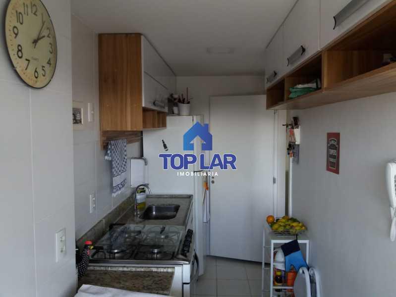 16 - Linda cobertura duplex, frente, 3 quartos - 2 planejados e 1 suíte, 3 banheiros, cozinha planejada, deck, churrasqueira, garagem e total infra. (Pátio Carioca) - HACO30003 - 17